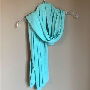 Accessories - Lightweight aqua scarf